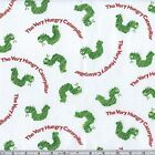 THE VERY HUNGRY CATERPILLAR TOSS VHC QUILT SEWING FABRIC *Free Oz Post