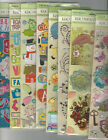 "U CHOOSE  ASSORTED K&COMPANY 12"" LONG 3D Stickers  travel girl home boy floral"
