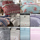 Tony's Textiles - Thermal Flannelette Duvet Cover Set - 100% Brushed Cotton