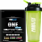 Pro Elite One Solution (All In One) 60g Sachet x 6 Flavours  + Free Shaker