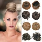 New Women Girl Dish Hair Bun Tray Ponytail Extension Hair Piece Wig Scrunchie