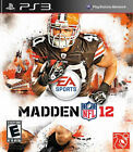 Madden NFL 2012 PS3 New Playstation 3