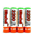 12 AA NiMH HR6 3200mAh Rechargeable Battery UltraCell O