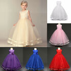 New+ Flower Girl Pageant Wedding Graduation Communion Bridesmaid Dress Ball Gown
