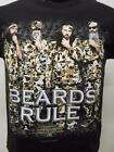 NEW Duck Dynasty Camo Beards Rule Youth Sizes XS-S-M-L-XL Shirt