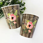 500pk Floral Themed Party Cups Bridal Shower Wedding Part...