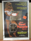 "Vintage ""More Reel People Part 2"" Rated X movie hot girl man cave  3731"