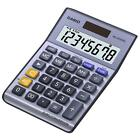 Casio MS80 Large Angled 8 Digit Display Desk Calculator with Euro Conversion