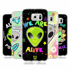 HEAD CASE DESIGNS ALIEN EMOJI SOFT GEL CASE FOR SAMSUNG PHONES 1