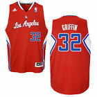 Blake Griffin LA Clippers Adidas Mens Swingman Basketball Jersey RED S-2XL