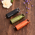 Outdoor Survival Waterproof Tank Medicine Pill Bottle Mini EDC Box Camping Tools
