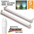 LED T8 2ft 4ft 5ft 6ft Single / Twin Batten Fitting Fixture. With / without tube