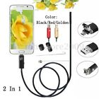 2-10M 6 LED 7mm IP67 Endoscope Len Borescope Inspection Micro USB Phone Camera