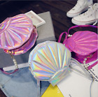 Lady Gril Pearl Shell Laser Cross Body Sweet Messenger Handbag Shoulder Bag