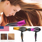 US Professional Hair Blow Dryer 2800 W Black Heat Speed Blower Dry Watt Pro New