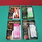 """NAP Quikfletch QuikSpin Vane System 2"""" Compound Bow Model 6 Pack CHOOSE COLOR"""