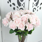 Artificial Real Touch Silk Rose Flower Home Wedding Party Decor Bouquet 2 Colour