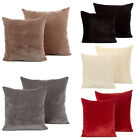 Modern Velvet Cushion Cover - Luxury Soft Scatter Small & Large Cushion Case