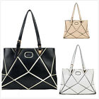Designer Women's Folding Bags Diamond Checked Quilted Shoulder Bag Handbag NEW