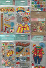 U CHOOSE  Assorted Jolee's ENTERTAINMENT & GAMES 3D Stickers carousel clown tent