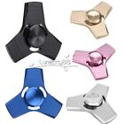 Metal Hand Spinner Tri Fidget EDC Focus Stress Reliever Toy For Adults Kids Gift