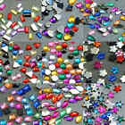 Acrylic Rhinestones Flat Back Random Mix in Varies Styles and Lots