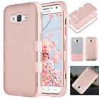 For Samsung Galaxy J7 2015 Shockproof Hybrid Rubber Hard Protective Case Cover