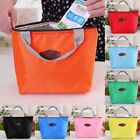 New Waterproof Portable Picnic Insulated Food Storage Box Tote Lunchboxes Bags