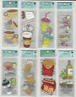 "U CHOOSE  Assorted Jolee's by You FOOD & DRINK 2X4-1/2"" small 3D Stickers coffee"