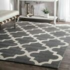 nuLOOM Contemporary Modern Meeker Trellis Geometric Area Rug in Gray