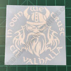 In Odin We Trust Til Valhalla Thor Viking Military Tactical 2A Decal Sticker