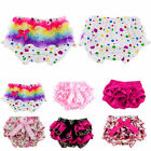 Newborn Baby Girls Infant Toddler Ruffle PP Pants Shorts Dress Bottoms Bloomers