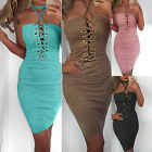 NEW Womens Bandage Bodycon Off Shoulder Evening Party Cocktail Short Mini Dress
