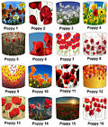 Poppy Lampshades Ideal To Match Poppy Cushions, Poppy Duvets & Poppy Throws.