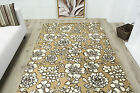 Contemporary Soft Natural Floral Rugs Small Large Non Shed Modern Lounge Rugs