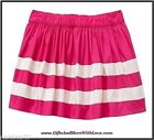 Baby Gap NWT Royal Fuchsia Pink STRIPED PARTY DRESS SKIRT BOTTOMS 18 24 2T