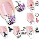 New Makeup Beauty Water Transfer Stickers Nail Art Tips DIY Flower Animal Decals