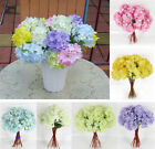 1pcs Artificial Craft Hydrangea Party Home Wedding Fake Bridal Silk Flowers 2017