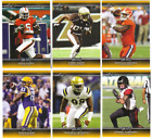 2017 Leaf Draft Football - Gold Parallel Cards - Pick From Card #'s 1-69