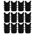Adult Outdoor Sports Soccer Bib Basketball Training Group Team Vest 12pcs