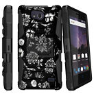 For ZTE Majesty Pro Case Heavy Duty Rugged Holster Clip Stand Cover