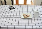 Simple check black 100% Cotton Fabric Scandinavian checked line Quilting fft256-
