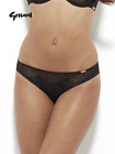 Gossard Glossies Lace Sheer Brief - Black - 13003