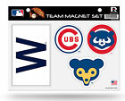 Chicago Cubs RETRO LOGOS Multi Die Cut Magnet Sheet Auto Home MLB Baseball on Ebay