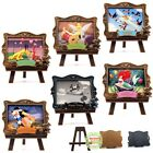 Disney Miniature Dollhouse Princess Dumbo Tinkerbell Pinocchio Picture Easel