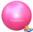 Yoga Exercise Ball Gym Pilates Balance Exercising Fitness Air Pump Anti-Burst
