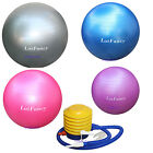 Yoga Exercise Ball Gym Pilates Balance Exercising Fitness Air Pump Anti-Burst image