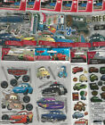 U CHOOSE  Assorted Disney CARS 3D Stickers tow mater lightning mcqueen sally