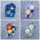 anime Black Butler Book of the Atlantic rubber Keychain Key Ring New