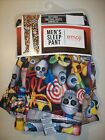 NEW MEN'S EMOJI SLEEP PANT SIZE XL OR XXL YOU CHOOSE SOFT THIN FABRIC